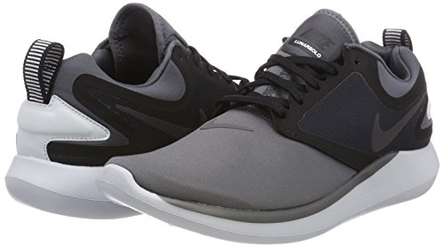 Nike 012 black Scarpe dark Grigio Uomo Running Lunarsolo multi Grey color zwAvqrz