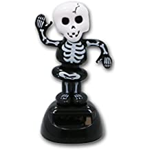 Skeleton Solar Powered Dancing Figure for Halloween or Over the Hill