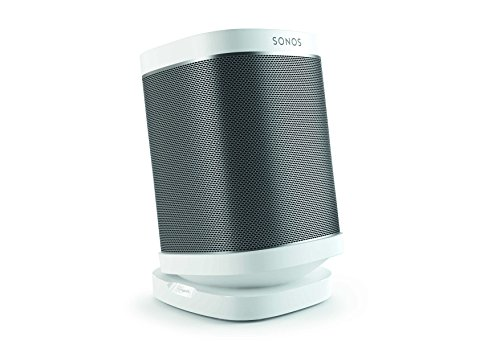 Vogel's Speaker Table Top Stand for SONOS Play - SOUND 4113 W Mount for SONOS One, Play 1 & 3, White (Single stand)