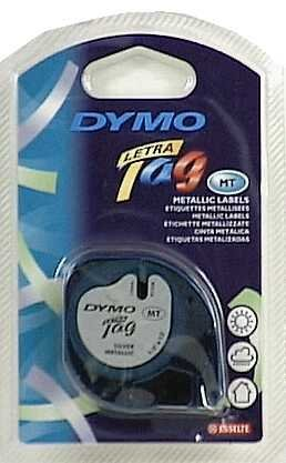 Dymo Labelmaker Refill Tape 1/2 In. X 13 Ft. Silver