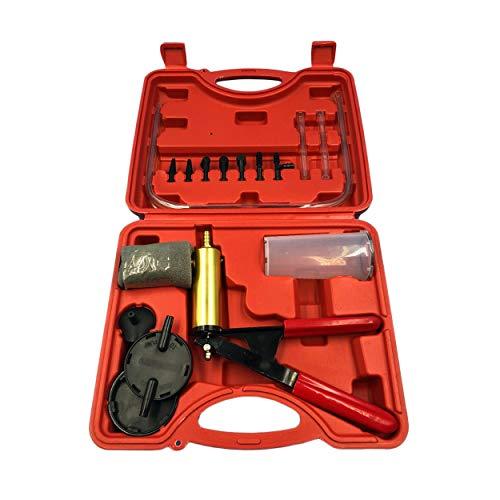 2 en 1 Auto Car Líquido de Freno Adaptador de Purga Cambio de Aceite Mano Pistola de vacío Bomba Tester Kit DIY para Todos...