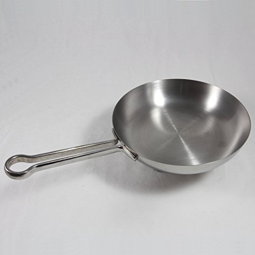 Revere Pro Line Stainless & Copper Skillet, Pan, 8-Inch, 6758