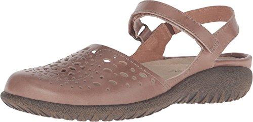 Naot Kvinna Arataki Klänning Sandal Arizona Tan Läder