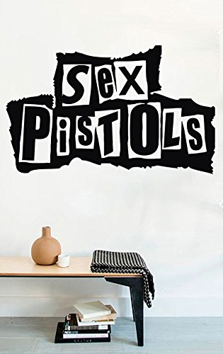 Rock Wall Decals Sex Pistols Decor Stickers Vinyl MK0622 by USA Decals4You