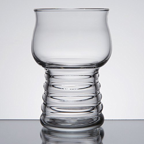 Cider Glass - Set of 6 Libbey 540 Hard Cider / Craft Beer Tasting 5 oz Glass w/ Signature Party Picks