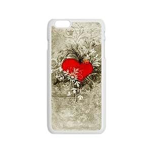 ORIGINE Creative Heart Graffiti Custom Protective Hard Phone Cae For Iphone 6