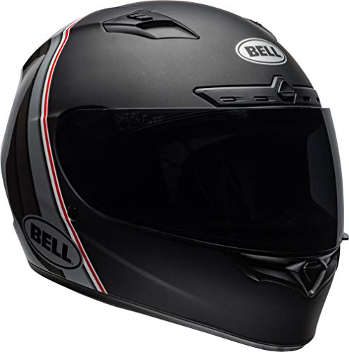 Bell Qualifier DLX Helmet With MIPS - Illusion (X-LARGE) (MATTE/GLOSS BLACK/SILVER/WHITE)
