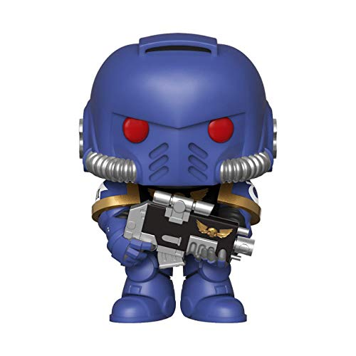 LAST LEVEL- Figura Pop Warhammer 40K ULTRAMARINES INTERCESOR, Multicolor (FFK38324)