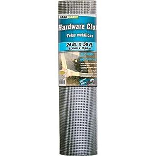 YARDGARD 308247B Hardware Cloth 24-Inch x 50-Foot, Silver (B000RZCI2G) | Amazon Products