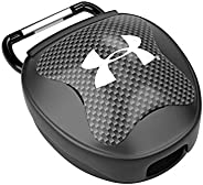 Under Armour Mouth Guard Case. Mouthguard Storage. Keep it Clean and Secure, Black, Adult