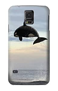 S1349 Killer whale Orca Case Cover For Samsung Galaxy S5