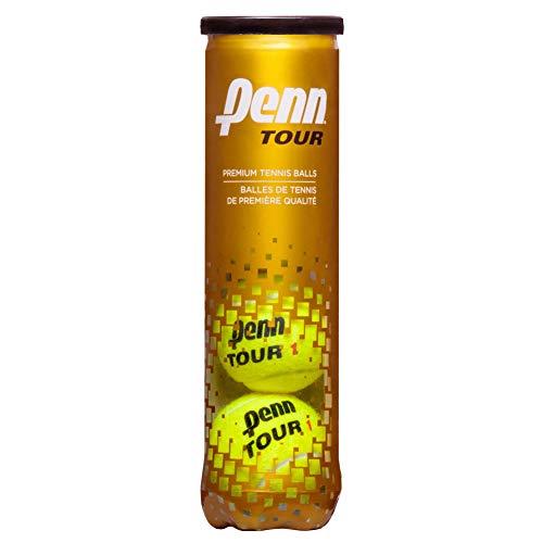 Penn Tour (Extra Duty) Tennis Balls (18-Can Case) ()