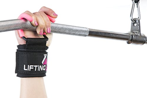 Lifting Lab | Women's Weightlifting Hooks | Grip Assisting Callous Guards for Back Exercises