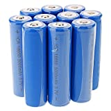 Tint ICR 5000mAh 18650 Li-ion Rechargeable Battery(10pcs)