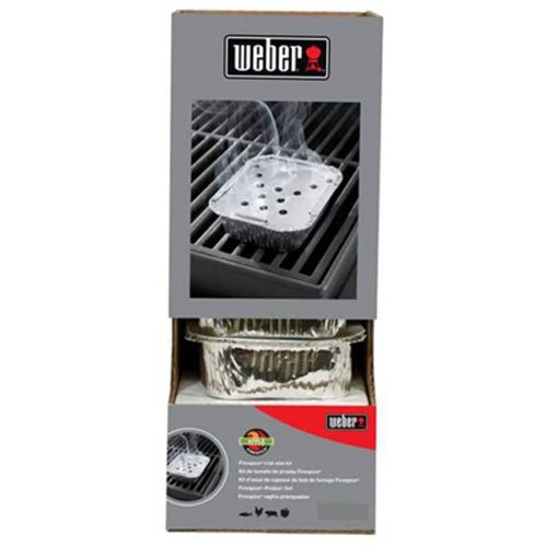 Weber 17914 Beech Smoker Tray Gravity Feed