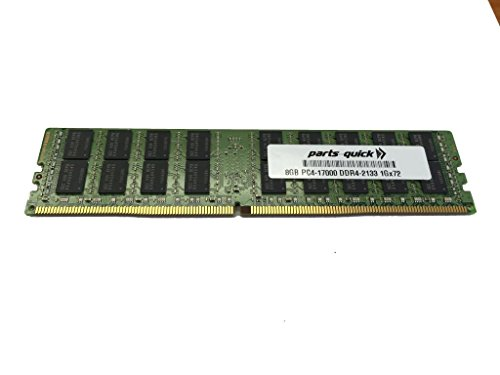 8GB Memory for HP ProLiant DL160 Gen9 (G9)DDR4 PC4-17000 2133 MHz RDIMM RAM (PARTS-QUICK BRAND)