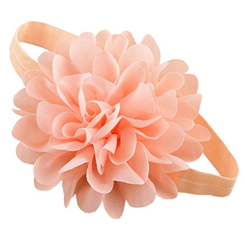 Tour Bows (SHOW TOUR Cute baby elastic headband (Blush))