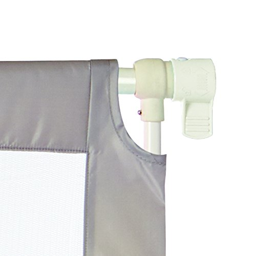 """Portable Travel Gate, Light Gray, Fits Spaces between 28.2"""" to 42.6"""" Wide and 28""""high"""