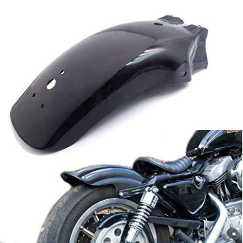- Black Motorcycle Metal Rear Fender Mudguard For Harley Honda Kawasai Suzuki Yamaha