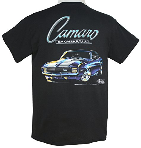 1968 - 1969 Chevy Camaro Z-28 T-Shirt 100% Cotton Preshrunk - ()