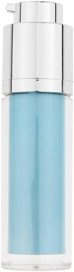 30ml Portátil Botella de Plástico de Viaje para Almacenaje de Lociones/Cremas/Líquido - Azul