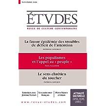 """Etudes : Les populismes et l'appel au """"peuple"""": novembre 2018 (BAYS.ETUDES) (French Edition)"""
