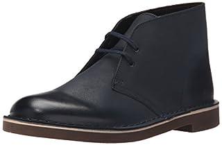 Clarks Men's Bushacre 2 Chukka Boot, Navy Leather, 7 M US (B00UWJ0FX6) | Amazon price tracker / tracking, Amazon price history charts, Amazon price watches, Amazon price drop alerts