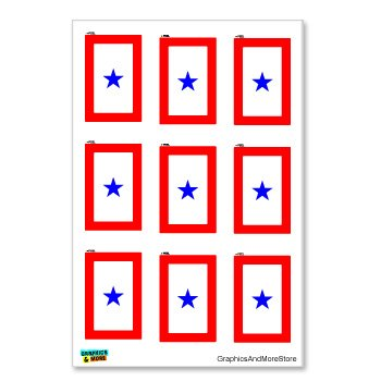 Blue Star Mothers Flag - 8