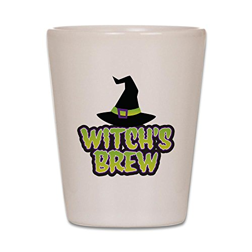 CafePress - Witch's Brew - Shot Glass, Unique and Funny Shot -