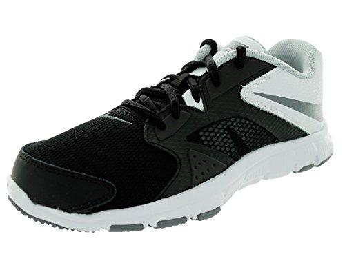 Nike Kids Flex Supreme Tr 3 (GS/PS) Black/Cool Grey/White/Pr Pltnm Training Shoe 6 Kids US (Nike Flex Supreme Tr 3 White Training Shoes)