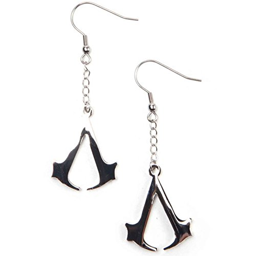 (Assassins Creed Earrings Creed Logo Gamer Official Ps4 Xbox )