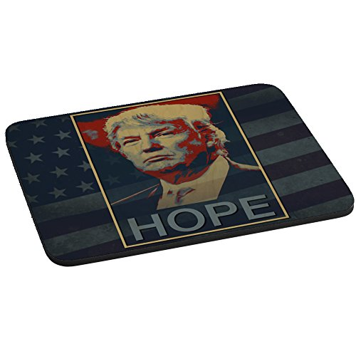 Computer Mouse Pad - HOPE - Presidential Candidate Design (Republican Rectangle Magnet)