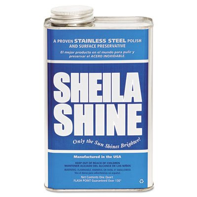 Sheila Shine 4CT Stainless Steel Cleaner & Polish, 1gal Can, (Sheila Shine Liquid)