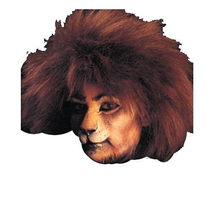 WMU Cat Face Woochie Mask, Small (Prosthetic Clown Costume)