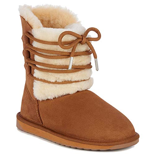 Boots Australia EMU Womens Winter Real Chestnut Sheepskin Sorby 5Yw7wqdz