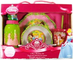 Disney Princess 6 Piece Meal Time - Set Disney Princess Dinnerware