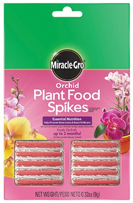 Orchid Spike (Miracle-Gro Orchid Plant Food Spikes (Pack of 2))