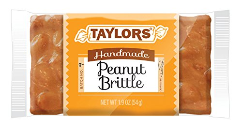 Taylors Peanut Brittle Bar 24 / 1.9 oz bars per case by Taylors