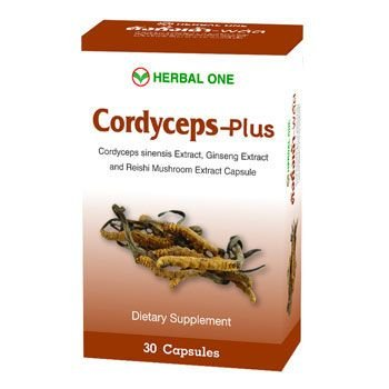 Herbal One Cordyceps-plus Herbal Capsule 30 Capsules By - 30 150 Capsules Mg