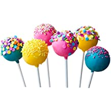 100Pcs Food Sucker Sticks 10Cm Chocolate Cake Lollipop Sweet Candy Homemade