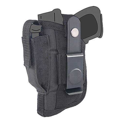 Belt Side Holster fits Kahr CW45 with Crimson Trace Laserguard (Kahr Cw45 Mag)
