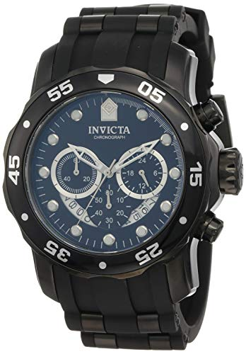 Invicta Men's 6986 Pro Diver Collection Chronograph Black Watch ()