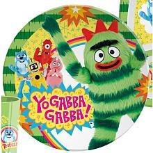 1 X Yo Gabba Gabba Plate By Zak  Brobee Kids