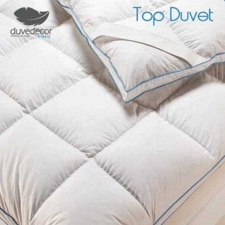 Duvedecor Sobrecolchon - Topper Duvet 90% Duvet Oca - Doble ...