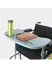 Wheelchair Tray, Detachable Wheelchair Tray Dining Table Durable Wheelchair Table Lap Tray Accessories for Eating Reading Writing