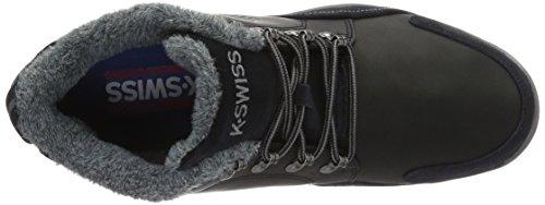 K-Swiss Eaton P Cmf, Scarpe da Ginnastica Basse Uomo Nero (Black/Charcoal 006)