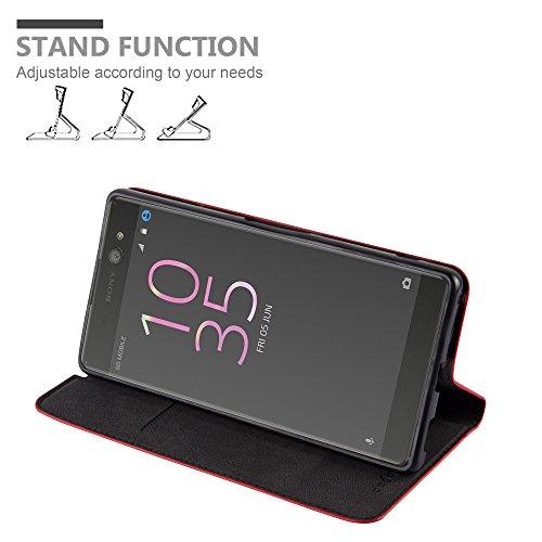 Cadorabo - Funda Book Style Cuero Sintético en Diseño Libro para >                                      Sony Xperia XA ULTRA                                      <