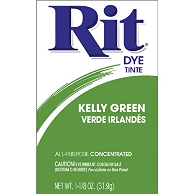 Rit Dye Powdered Fabric Dye, Kelly Green from Notions - In Network