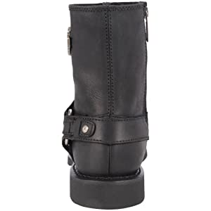 Harley-Davidson Men's Scout Motorcylce Harness Boot, Black, 12 M US