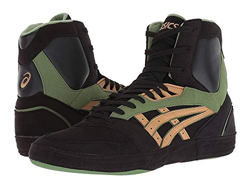 ASICS International Lyte Men's Wrestling Shoes, Black/Caravan, Size 11